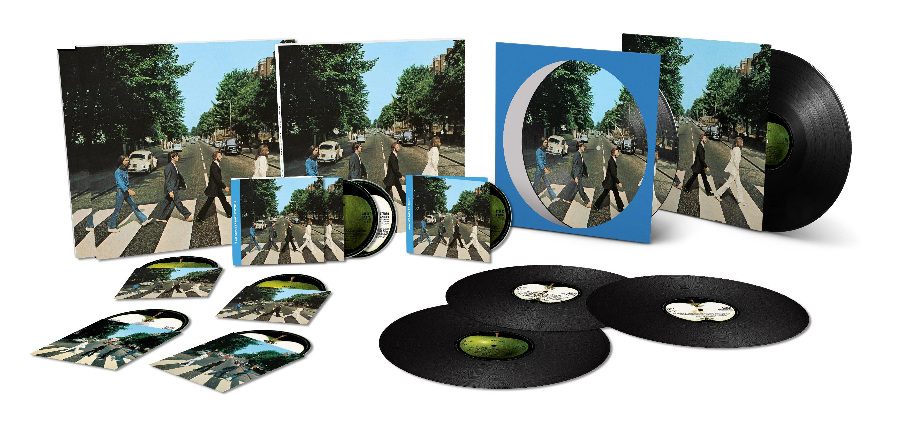 Abbey Road Anniversary Editions To Be Released – The BEATLES